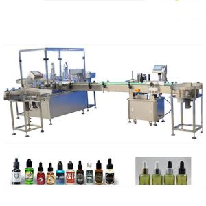 China 4 Filling Nozzles Essential Oil Filling Machine PLC Control System Founded on sale