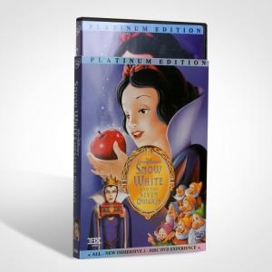 China Snow White and the Seven Dwarfs dvd - wholesale With Slipcover disney kids cartoon movies on sale