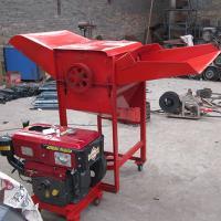 China Diesel engine rice shelling machine on sale