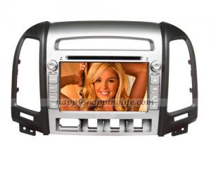 China Android DVD Player Hyundai Santa Fe 2006-2012 Navigation Wifi on sale