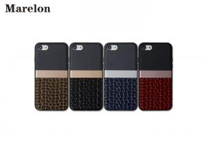 China Embossed Crocodile Leather TPU Phone Case ,Colourful Customized Mobile Phone Case on sale