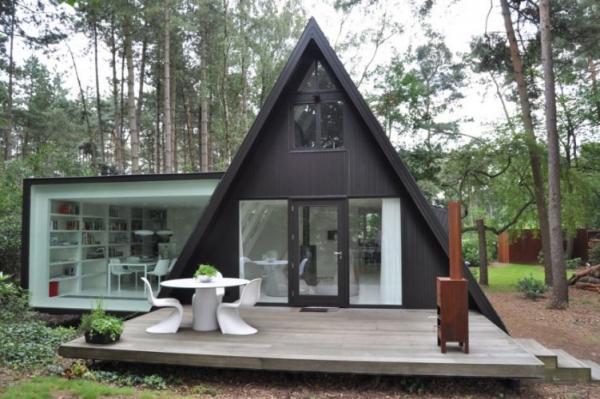 Prefab House Kits Modern Light Steel Frame Bungalow