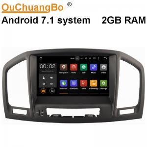 China Ouchuangbo 8 inch digital screen radio player  for Opel Insignia 2008-2011 suppor 3g wifi android 7.1 system on sale