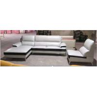 Contemporary Leather Sectional Sofa / Leather Reclining Sectional With Chaise Lounge