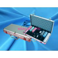 China Professional Aluminum Chip Case Easy Carry Poker Chip Box For Carry Chippers on sale