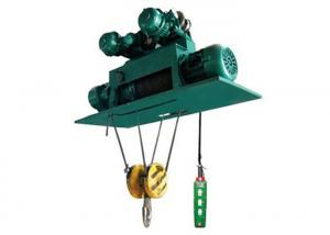 China 220V~380V Customized Electric Wire Rope Hoist / Electric Lifting Hoist Low Headroom on sale