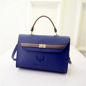 China Wholesale Quality Handbag Purses blue Shoulder Bag bolso Bolsos on sale