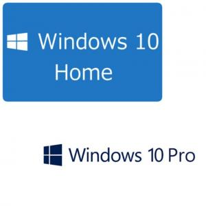 China 100% Geniune Microsoft Windows 10 Home Online activation COA sticker DVD pack MS Win 10 Home computer system software on sale