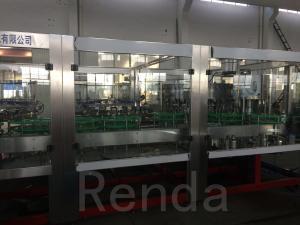 China Automatic 5000BPH Beer Filling Machine Glass Aluminum Canned Machine on sale