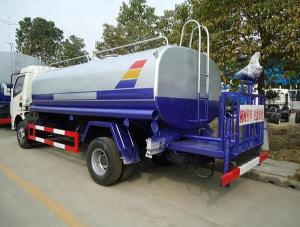 China 6000L - 7000L Water Tank Truck 7m3 Spraying Water Cart With Diesel Fuel Type on sale