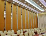 Fireproof Movable Sound Proofing Conference Room Dividers Melamine Board