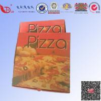 China Beautiful corrugated pizza box for delivery/take away for sale on sale
