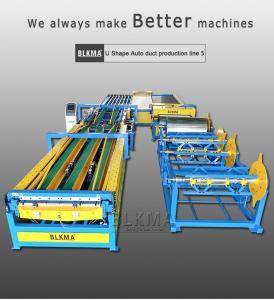 China spiral duct making machine U shape auto duct line 5 on sale