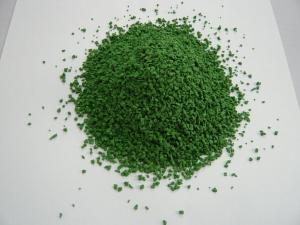 Quality 0.5-1.5mm Green Rubber Granules Artificial Grass Infill for Football Field for sale