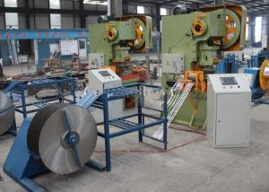 China Double Edge High Speed Barbed Wire Machine , High Accuracy Razor Barbed Wire Machine on sale
