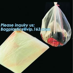 China PVA Water Soluble Laundry Bag Infectious Waste Plastic Biodegradable bags, hot water soluble laundry bag, bagease, pac on sale