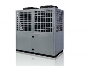 China Double source dry heat pump with air source heat pump and water to water source heat pump on sale