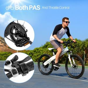 China Comfortable Electric Battery Powered Bicycles , Electric Mountain Bike For Adults on sale