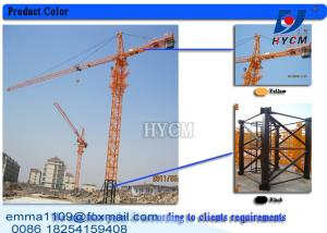 TC6012 Chinese Specifications Tower Crane 60 Meter Building