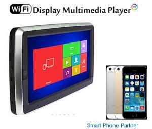 China New product WiFi 10.1 back seat car monitor with WiFi IR FM transmitter Speaker  on sale