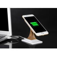 CE Universal Wireless Phone Charger Wooden Stand Phone Holder QI Wireless Charger