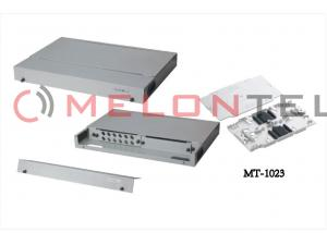 China Full Sealed ODF Fiber Optic Patch Panel Rack Mount For Duplex Or Simplex Adapter on sale