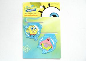 China Folding Fun Rubber Personalized Magnetic Bookmarks for Tourist Souvenir , Children's Toys on sale