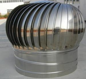 China 1000mm Industrial Turbine Roof Hot Air Exhaust Blower on sale