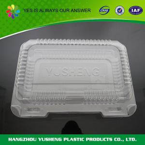China Foodstuff Disposable Plastic Containers For Food Storage / Take - out on sale