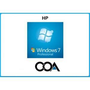 China Microsoft COA Label Windows 7 Professional COA Sticker With OEM Key Online Activate on sale