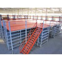 China Customized Cold Rolled Structural Rack Supported Mezzanine For Logistics on sale