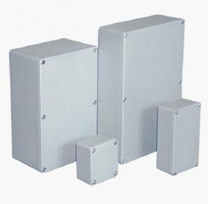 China Metal Industrial Control Panel Enclosure , 180 Degree Hinge Electrical Cabinet Box on sale
