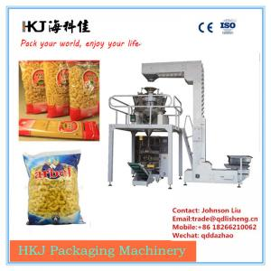China Horizontal Noodle Packaging Machine For Macaroni Packaging Long Operating Life on sale