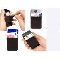 China L'OEM façonnent le support de carte de crédit de cadeau de silicone pour le téléphone portable/téléphone portable on sale