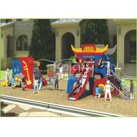Kids popular Chinese opera interesting play slide and climbing outdoor playground