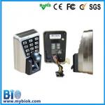 IP65 Waterproof No Software Access Control Device Bio-F50