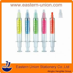 China Needle tube fluorescence pen,novelty highlighter marker on sale