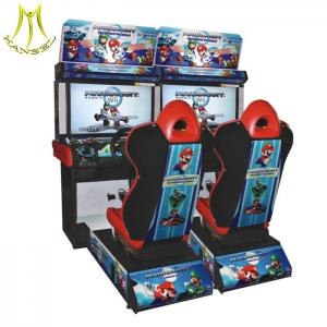 China Hansel cheap coin operated racing game machine arcade game machine manufacturer on sale