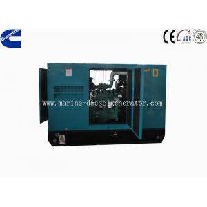 China 80KVA 60HZ Soundproof Cummins Diesel Generator With Automatic Controller on sale