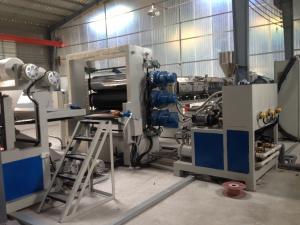 China 380v PE que cubre el panel de la cadena de producción del ACP/ACP que hace control del PLC de la máquina on sale