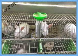 China Welded Wire Mesh Fencing Panels Rabbit Battery Cage 3 Or 4 Layers on sale
