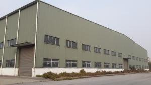 China Large Span H Steel Prefabricated Light Steel Structure Building on sale