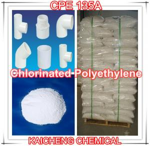 China PVC additive chlorinated polyethylene Plastic modifier -CPE 135A on sale