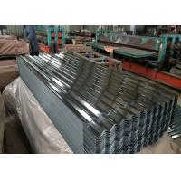China Customizable Corrugated Galvanized Steel Roofing , Ppgi Colour Coated Sheet on sale
