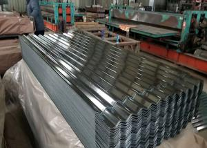 China Customizable Corrugated Galvanized Steel Roofing , Ppgi Colour Coated Sheet on sale