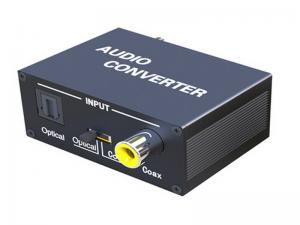 China SPDIF Audio Optical TOSLINK to Coaxial Bi-directional Converter on sale