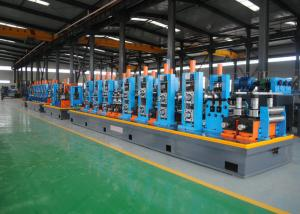 China Friction Saw Cutting ERW Pipe Mill / Round Carbon Steel Pipe Making Machine on sale