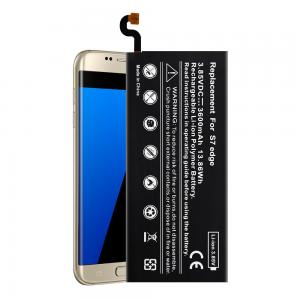China 3.85v Samsung Cell Phone Batteries , 3600mAh Samsung Galaxy S7 Edge Battery on sale