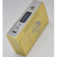 Removable  battery variable temperature golden 150 watt box mod OLED scree