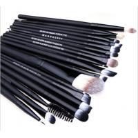 China make up brush manufacture wholesale 20pcs black brush for cosmetics popular in markt